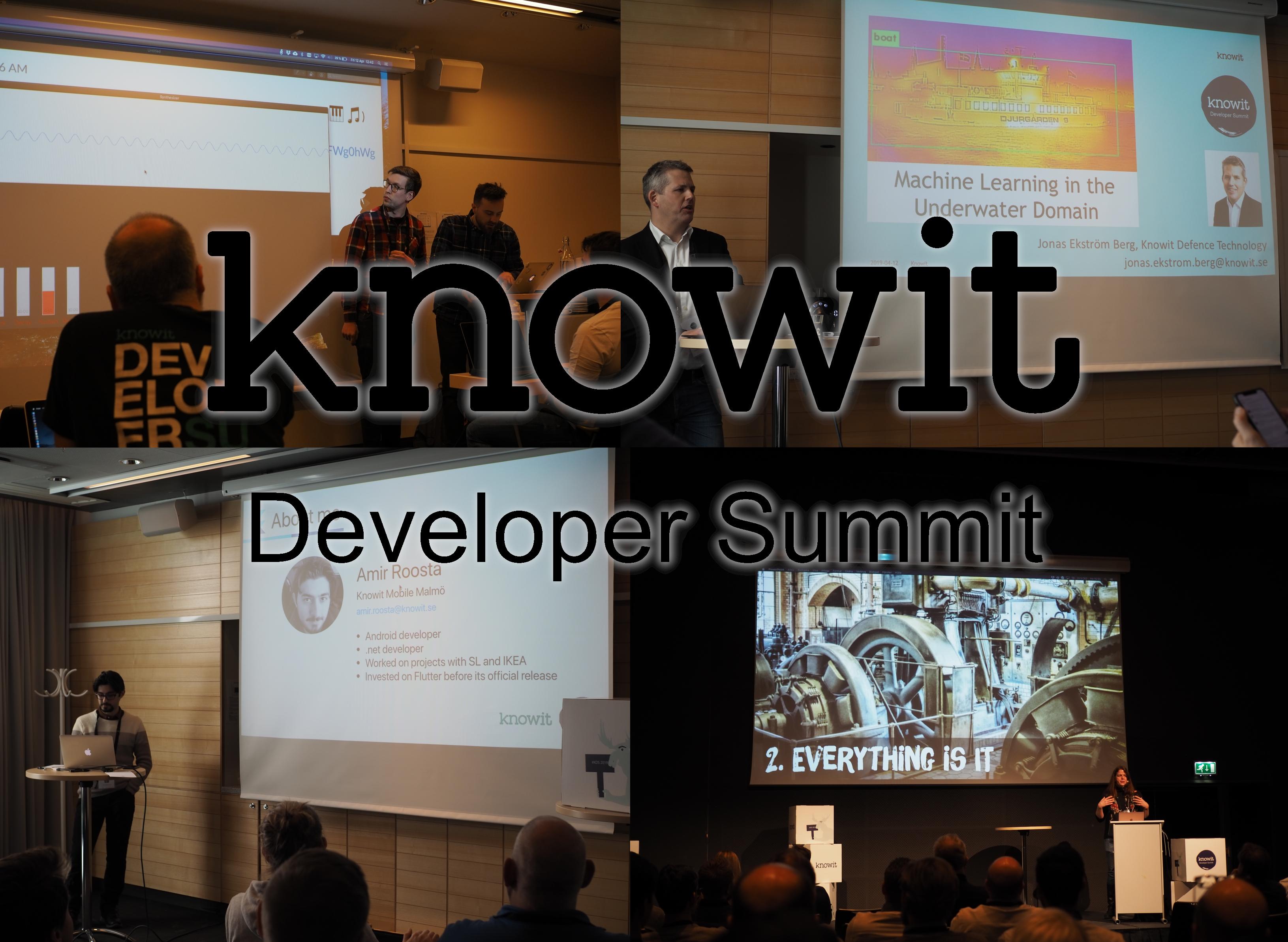 Knowit developer summit 2019